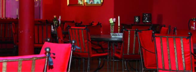 Fünfschilling Veranstaltungsraum Rot