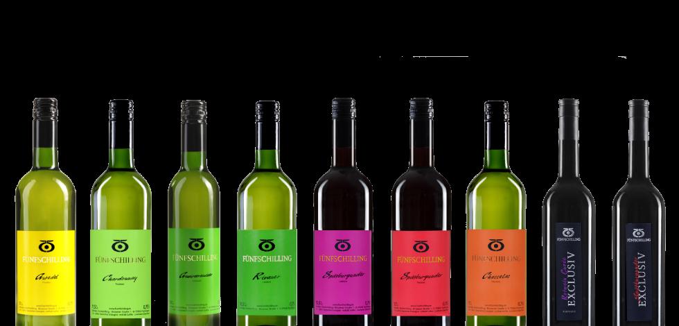 Fünfschilling Wein Kollektion
